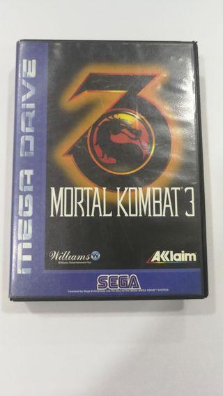 Juego Mortal Kombat 3 Mega drive