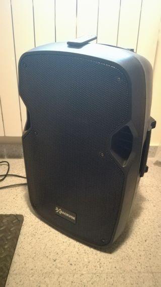 Amplificador/Altavoz Backvox PLS12A-BT