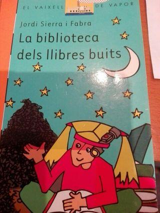 la biblioteca dels llibres buits
