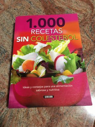Libro 1.000 Recetas sin Colesterol
