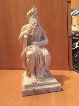 Escultura Moises Marmol Carrara