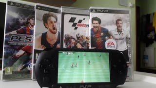 PSP + 4 juegos