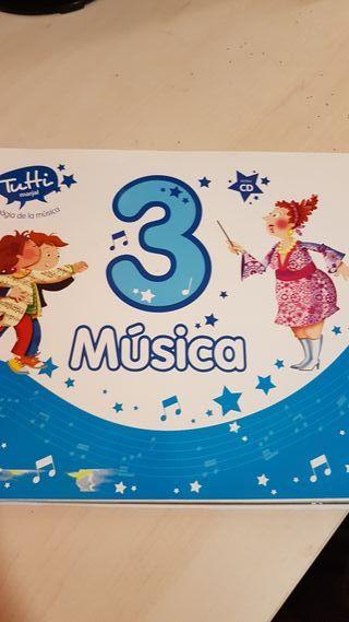 Libro de música 3 primaria