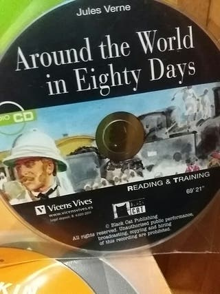 CD del libro around the world in eigthy days