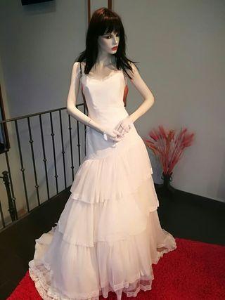 Vestido novia talla 42