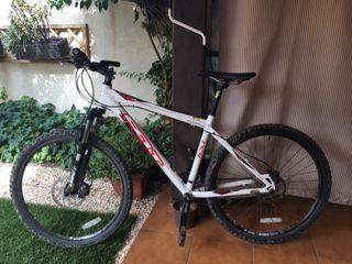 Bicicleta montaña aluminio frenos disco