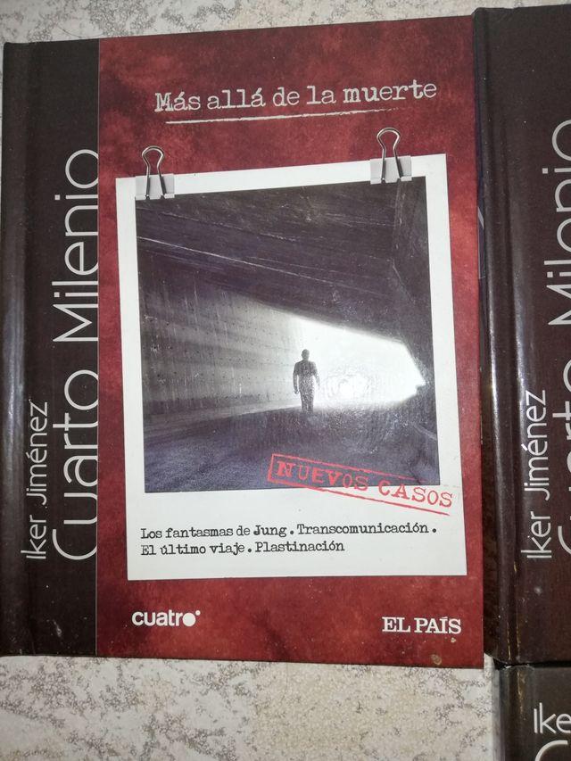 3 Dvds Libros Cuarto milenio de segunda mano por 15 € en Getafe en ...