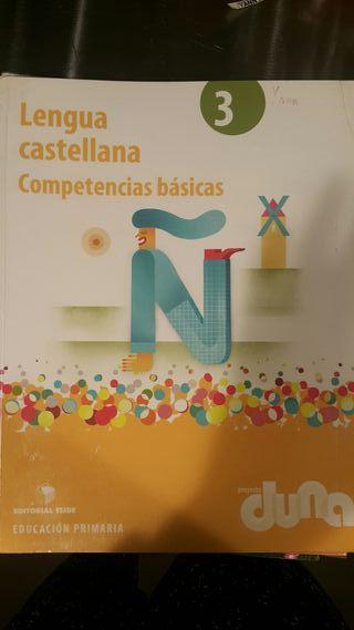 Lengua castellana 3. Competencias básicas