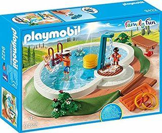 Ofertón Playmobil - Nueva piscina para niñ@s