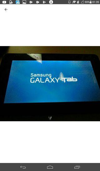 """Tablet SAMSUNG ROSA 7"""" CON SIM Y SD"""