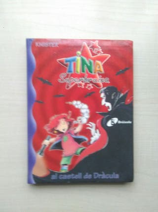 Libro Tina Superbruixa al castell de Drácula.