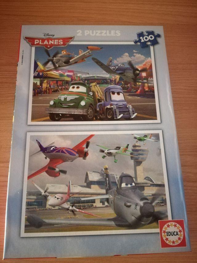 puzzle de Aviones