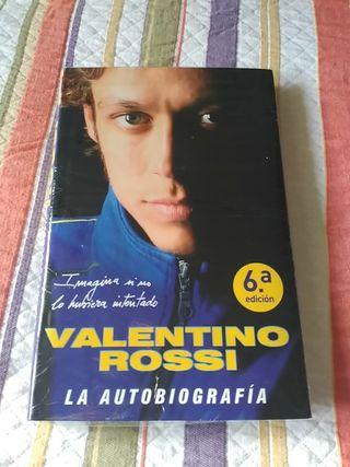la autobiografía de Valentino Rossi.