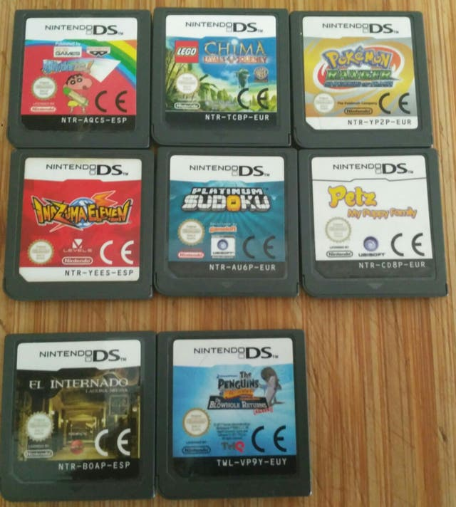 Juegos Nintendo Ds O 3ds De Segunda Mano Por 5 En Castellon De La