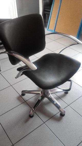 Sillon de tocador de perruqueria