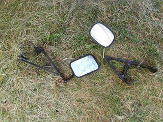 2 espejos retrovisores para caravana