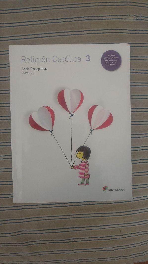 libro de religión de tercero