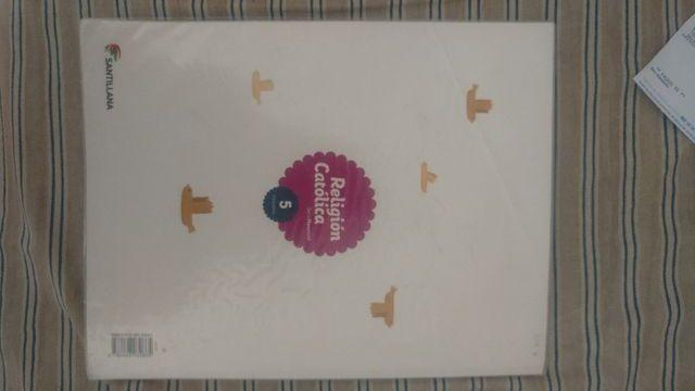 libro de 5 religión