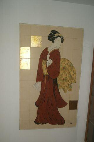 Cuadro Japonesa 150x90cm