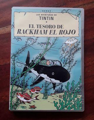Dvd de Tintín original
