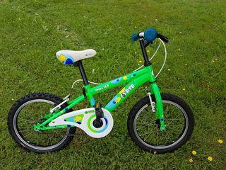 Bici infantil unisex de 16 pulgadas, buen estado