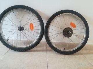 ruedas bici niño