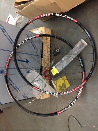 Ruedas de bicicleta de carbono del 29 sin estrenar