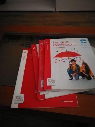 libro de lenguaje 4 primaria isbn 9788468029566