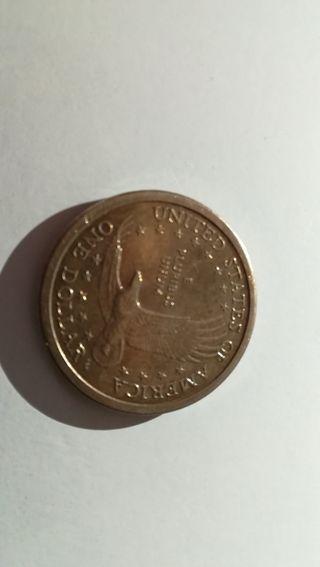 moneda dólar del 2000