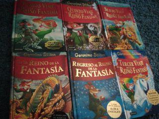 Libros Geronimo Stilton El reino de la fantasía,