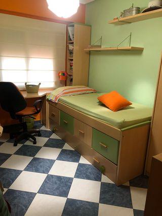 Habitación Juvenil. Muebles por separado tambien