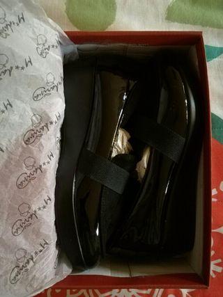 Zapatos mocasin de piel, nuevos sin estrenar