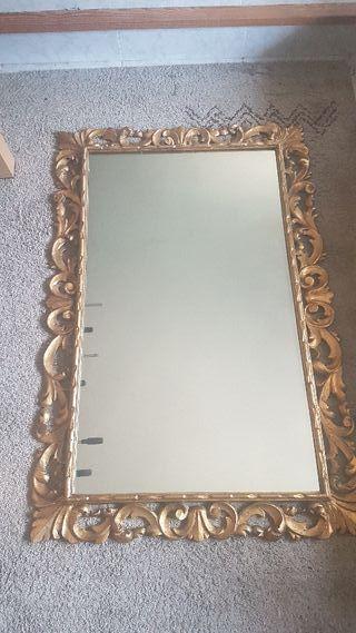 espejo antiguo barroco