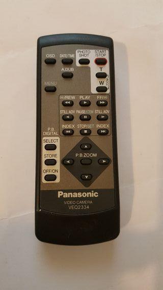 mando video camara panasonic