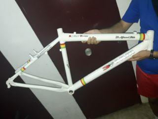 cuadro de bici restaurado