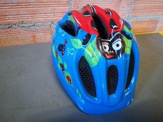 casco bici niño talla S