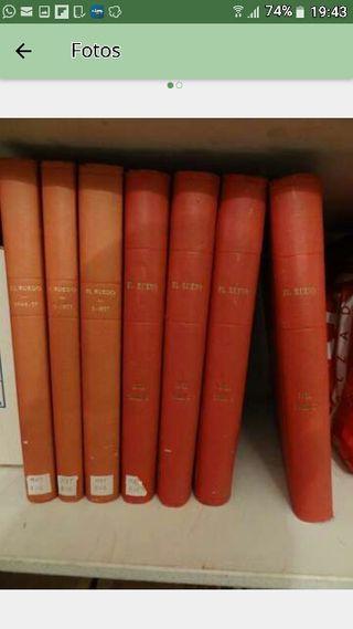 """Revistas """"El Ruedo"""". Encuadernadas"""