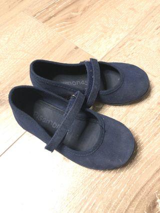 Zapatos lona niña 24
