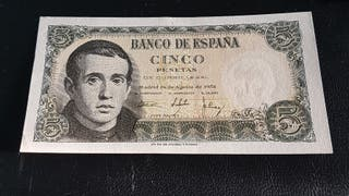 Billete 5 pesetas 1951