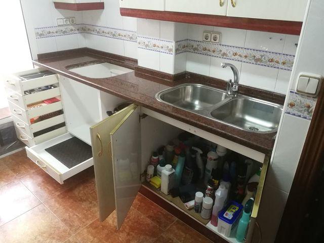 Muebles modulares de cocina de segunda mano por 180 € en Valladolid ...