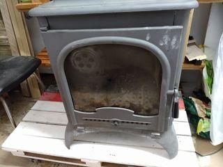 chimenea hierro fundido grueso