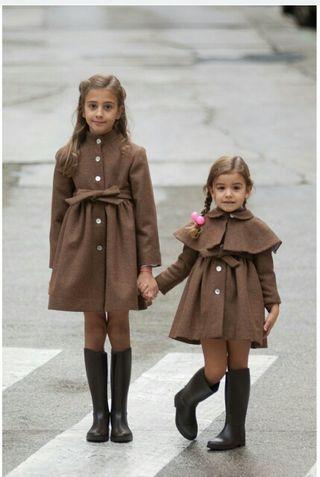 abrigo talla 2-3