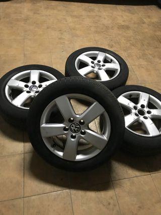 """Llantas + neumáticos 16"""""""