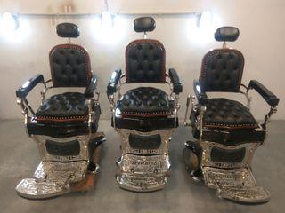 Sillones de barbero Triumph Gran Lujo N°1