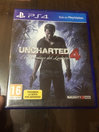 UNCHARTED 4 PSP 4 679685019