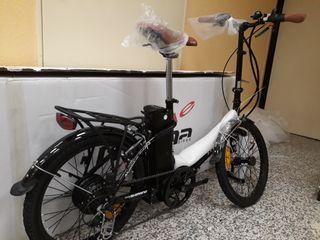 bicicleta electrica plegable moma ebike 20