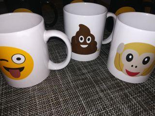 6 Tazas Emoticonos a estrenar!!!!