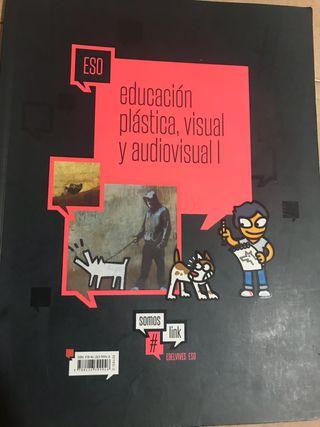 libro de educacion plastica,visual y audiovisual
