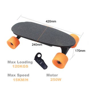 Monopatin electrico con mando patinete patin 250W