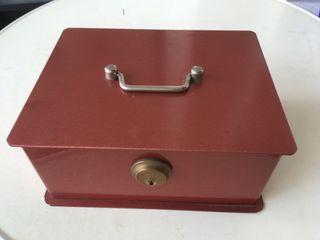 Antigua caja de caudales